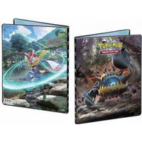 Pokémon crimson invasion, portfoliopärm a4 - 9 pocket