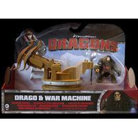 Dragons DRAKTRÄNAREN drake med ryttare, ToothlessS2Tail&HiccupS3