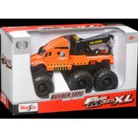 Maisto Quarry Monster -työmaa-ajoneuvo, Oranssi hinausauto