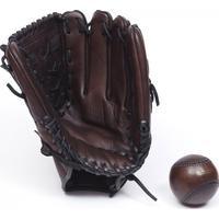 John Woodbridges Baseboll handske Mörkbrun