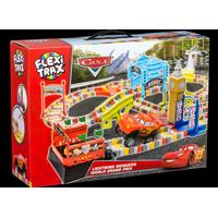 Flexi-Trax Disney Pixar Cars Lightning McQueen World Grand Prix