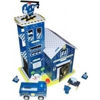Image Toys Politi Station m. tilbehør