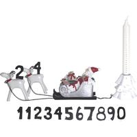 Juletog, med 12 tal og plads til kalenderlys - KIDS by FRIIS