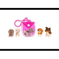 PUPPY IN MY POCKET valpar & clip-on-ficka, pink 48602