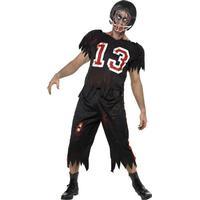 Smiffys High School Horror Zombie American Footballer Costume