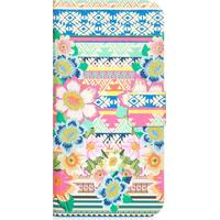 Lazerbuilt Aztec Floral Wallet Case (iPhone 6)