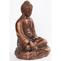 Bronzefarvet Buddha