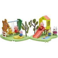 Pet and Country Peppa Pig Outdoor Fun Playset (Slide or Swing)