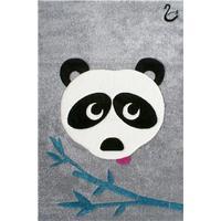 Livone Barnmatta Happy Rugs Svanhilde Design Panda Paul 120x180cm