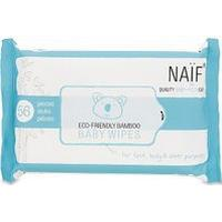 Naif NAÏF Eco-Friendly Bamboo Baby Wipes (56 wipes)
