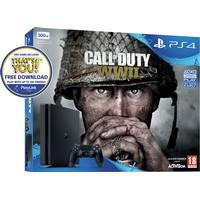 Sony PlayStation 4 Slim 500GB - Black Edition - Call Of Duty: WWII