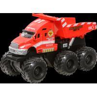 Maisto Quarry Monster -työmaa-ajoneuvo, Punainen kippiauto