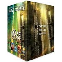 The Maze Runner Series Complete Collection Boxed Set (Inbunden, 2016)