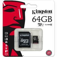 Kingston - 64GB Micro SD - Class 10