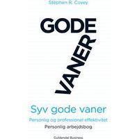Syv gode vaner: personlig og professionel effektivitet, Personlig arbejdsbog, Hæfte