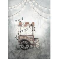 Mrs Mighetto Cotton Candy 50x70cm