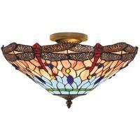 Searchlight 1289-16 Dragonfly Tiffanylampa