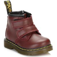 Dr Martens Dr. Martens Infants Cherry Red Brooklee Velcro Boots