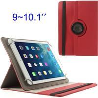 """Universal iPad/surfplatta cover för 9-10"""" 360 grader vikbar - Röd"""