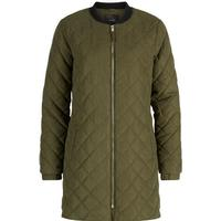 Y.A.S Long Blood Water Bomber Jacket Green/Deep Lichen Green (26008168)