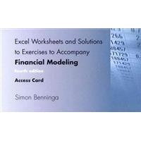 Financial Modeling Access Code (Inbunden, 2014)