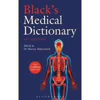 Black's Medical Dictionary, Hardback