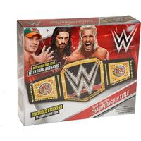 Poundtoycom Create Your Own WWE Championship Title Belt | Wrestling Toys