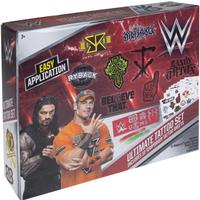Poundtoycom WWE Wrestling Temporary Tattoo Set | Wrestling Toys