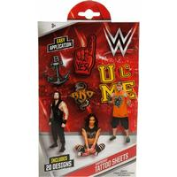 Poundtoycom WWE Wrestling Temporary Tattoo Sheets | Wrestling Toys & Games