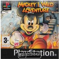 PS1 Mickeys Wild Adventure (Platinum)