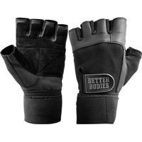 Better Bodies Pro Wrist Wraps Gym Gloves - Black (130312-999)
