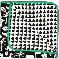 Toby Tiger Black Jungle Blanket