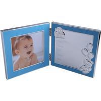 Dacapo, Dobbelt fotoramme, Fødselsdata, Blå