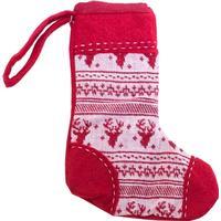 Filt/strik mini sokker t/ophæng elg  -  20CM