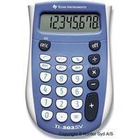 Texas Instruments Regnemaskine, Standard, 8 cifre, Blå, Texas Instruments TI-503SV