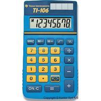 Texas Instruments Regnemaskine, Junior, 8 cifre, Lyseblå, Texas Instruments TI-106 P