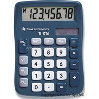 Regnemaskine, Standard, 8 cifre, Gråblå, Texas Instruments