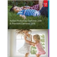 Adobe Photoshop + Premiere Elements 2018 Svenska för Windows