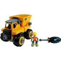Toy State CAT Machine Maker Junior Operator Dump Truck