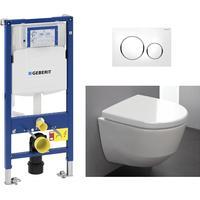 Laufen Pro Toalettpaket Kompl. med sits/lock cistern spolknapp