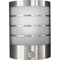 Massive væglampe med bevægelsessensor Calgary rustfrit stål 12 W 171744710