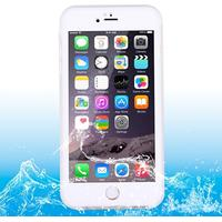 HAWEEL Vattentätt TPU-skal för iPhone 6/6S Vit