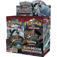 Pokemon sm crimson invasion, hel display / booster box 36 paket