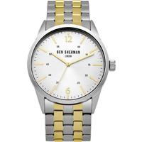 Ben Sherman Wb060gsm Two Tone Stainless Steel Men's Watch