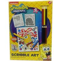 PoundToycom Spongebob Squarepants Scribble Art Set | Arts & Crafts