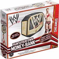 PoundToycom WWE Paint Your Own Money Bank | Arts & Crafts