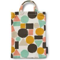 Littlephant-Geometric Mini Shopper, Hvid/Multi
