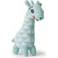 Littlephant-Giraffe Melody Soft Legetøj, Aqua