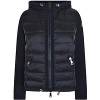 MONCLER Nylon Hooded Sweatshirt Navy