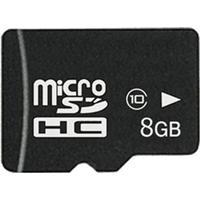 MicroSDHC 8GB OEM CL10 + Adapter